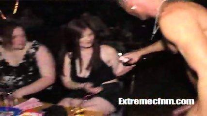 Girl sucks naked dancers cock in public - scene 11