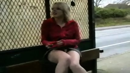 Blonde Teen Public Tits And Pussy - scene 6