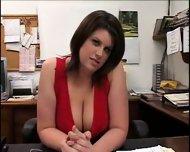 Lisa behind the desk - Pt. 1/3 - scene 1