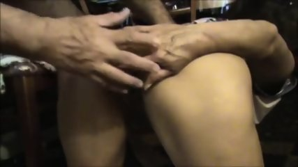 Mature Getting Ass Fucked By Old Guy - scene 2