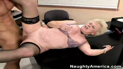 Mature Lady Fucks Young Cock - scene 8