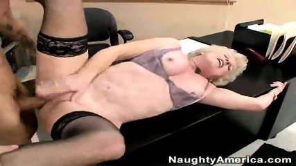 Mature Lady Fucks Young Cock - scene 7