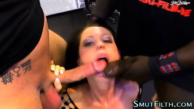 Fetish ho black cock jizz