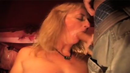 Amateur Hungarian Blowjob Party - scene 6