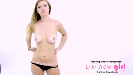 HOT BLONDE FUCKED IN THE ASS AT PHOTO SHOOT AUDITION CASTING 2 - scene 4
