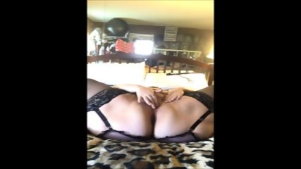 Super BBW Teasing And Masturbating