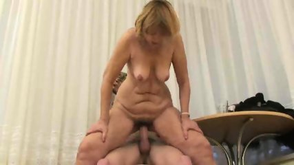 MILF can't keep her hands off this stud - scene 9