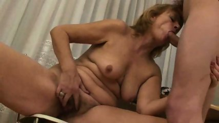 MILF can't keep her hands off this stud - scene 5