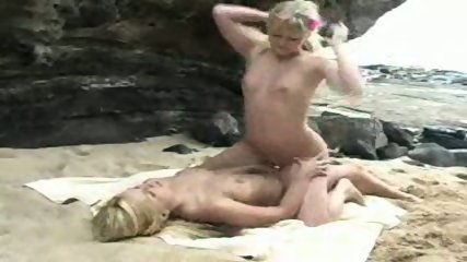 Sandy and Yana fuck with strapon... - scene 8