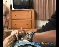 Susan Gives Smoking Blowjob - scene 8