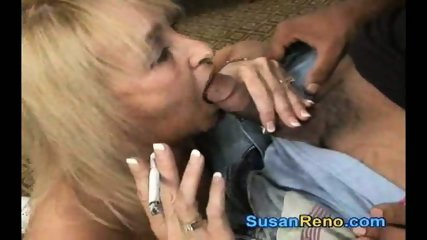 Susan Gives Smoking Blowjob - scene 9