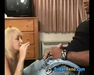 Susan Gives Smoking Blowjob - scene 5