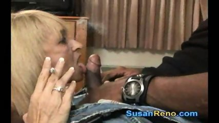 Susan Gives Smoking Blowjob - scene 7