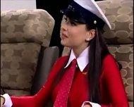 best lesbians movie - plane action - scene 2
