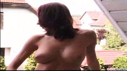Showing off for the neighbors - scene 3