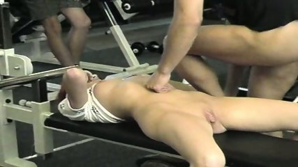 Gangbang at the gym - scene 3