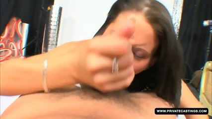 Ms. Sharm Casting Fucks On Camera For The First Time Ever - scene 12