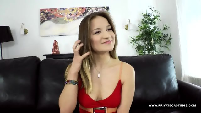 Adelle Is A Teen Student Who Has Her First Casting Audition Fuck