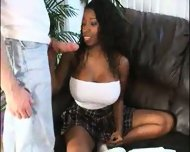 Vanessa Bue serving with Blowjob - scene 2