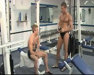 Bareback Gym Buddies PART 1 - scene 2