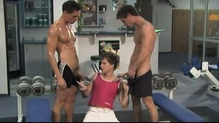 Bareback Gym Buddies PART 6 - scene 2
