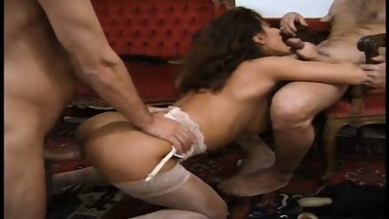 Natalie - Russian Threesome - scene 12