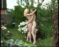 Young Lesbians Outdoors - scene 4
