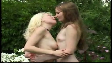 Young Lesbians Outdoors - scene 5
