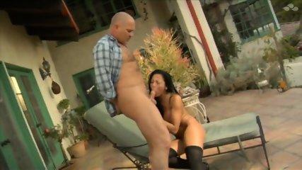 Audrey Bitoni - Big Boob Pornstar Fucked Outdoors - scene 5