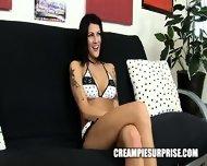 Creampie Surprise - Glauren Star - scene 1
