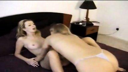Cute Lesbian licking Pussy - scene 3