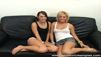 Hailey and Jen - Amateur Threesome - scene 1
