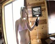 Lexi Belle - Anal masturbation - scene 1