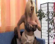 German Wife Marina from Bavaria and Black Bull - scene 7