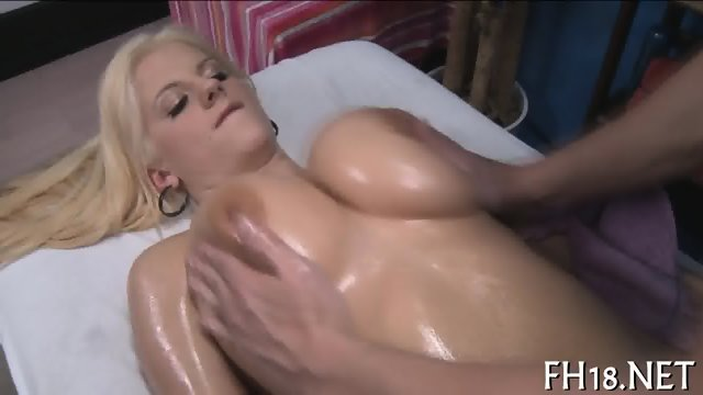 Rubbing an orgasmic frenzy