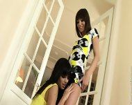 Angelica And Aiden - Two Lesbians - scene 1